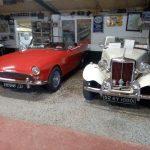 1959 Sunbeam Alpine and 1952 MG TD